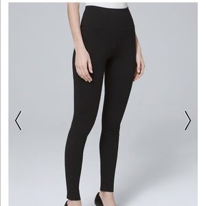 WHBM INSTANTLY SLIMMING LEGGINGS White House Black